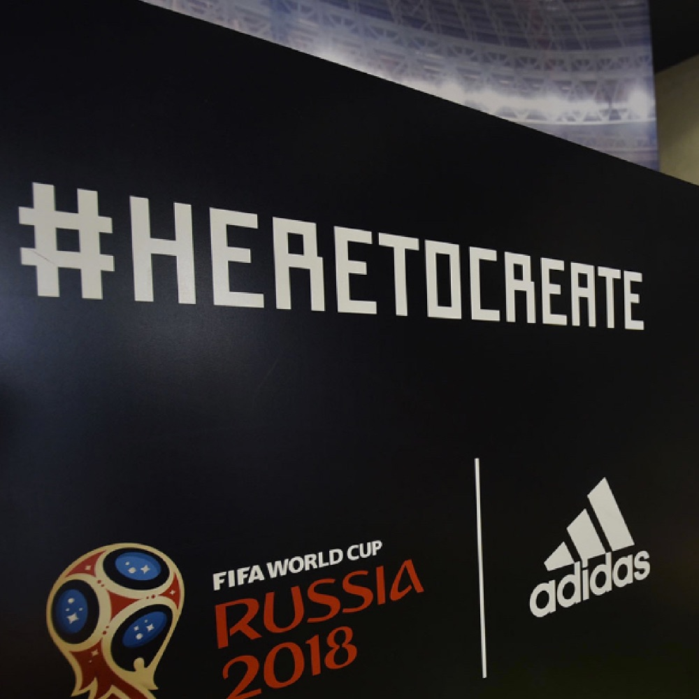 #HERETOCREATE World Cup Campaign Activation
